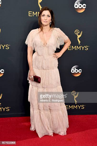 Comedian Chelsea Peretti attends the 68th Annual Primetime Emmy Awards at Microsoft Theater on September 18 2016 in Los Angeles California