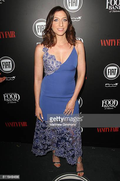 Comedian Chelsea Peretti attends Vanity Fair and FIAT Young Hollywood Celebration at Chateau Marmont on February 23 2016 in Los Angeles California