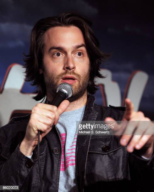 Comedian Chris D'Elia performs at the Ice House Comedy Club on April 16 2009 in Pasadena California