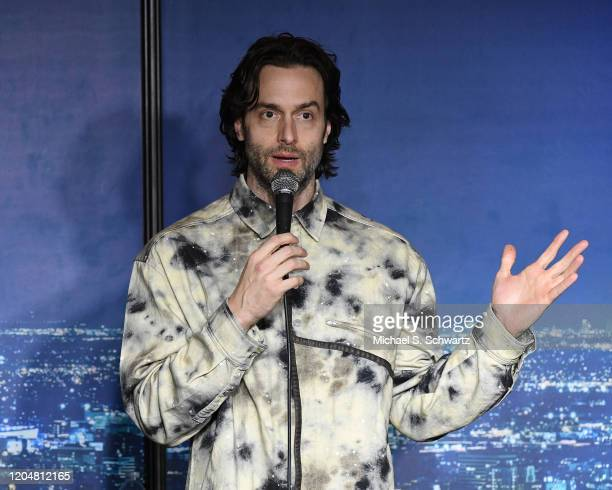 Comedian Chris D'Elia performs during his appearance at The Ice House Comedy Club on February 07 2020 in Pasadena California