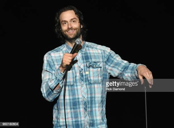 Comedian Chris D'Elia performs during Nashville Comedy Festival on April 22 2018 at War Memorial Auditorium in Nashville Tennessee