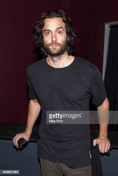 Comedian Chris D'Elia poses for a photo after his performance at The Space at Westbury on September 18 2014 in Westbury New York