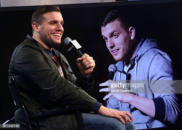 Comedian Chris Distefano attends AOL Build Presents Chris Distefano Benders at AOL Studios on December 15 2015 in New York City