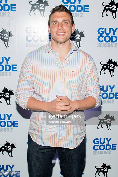Comedian Chris DiStefano attends MTV's Guy Code season 2 premiere at Crimson on July 10 2012 in New York City