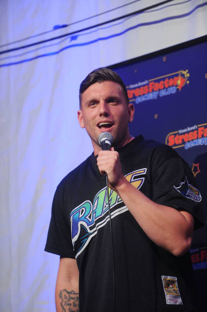 NJ: Chris Distefano Performs At The Stress Factory