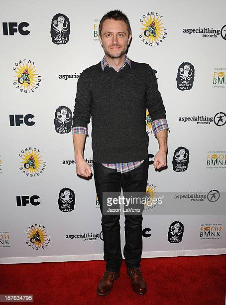 Comedian Chris Hardwick attends IFC's 2012 Comedy Bang Bang Nativity Pageant Holiday Comedy Show benefiting the LA Regional Food Bank at The Ricardo...