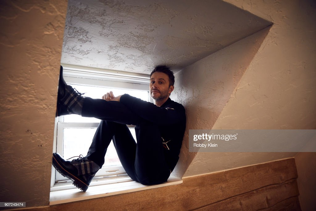 Comedian Chris Hardwick poses for a portrait in the YouTube x Getty Images Portrait Studio at 2018 Sundance Film Festival on January 19, 2018 in Park City, Utah.