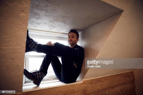 Comedian Chris Hardwick poses for a portrait in the YouTube x Getty Images Portrait Studio at 2018 Sundance Film Festival on January 19 2018 in Park...