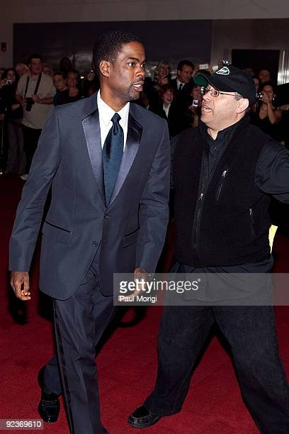Comedian Chris Rock arrives at the 12th Annual Mark Twain Prize at the John F Kennedy Center for the Performing Arts on October 26 2009 in Washington...