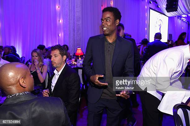Comedian Chris Rock attends An Evening of Music Art Mischief and Performance to benefit Raising Malawi presented by Madonna at Faena Forum on...