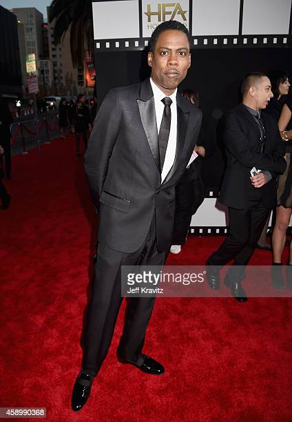 Comedian Chris Rock attends the 18th Annual Hollywood Film Awards at The Palladium on November 14 2014 in Hollywood California