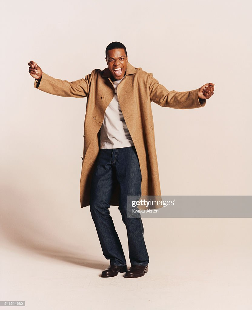 Comedian Chris Tucker Expressing Joy : News Photo