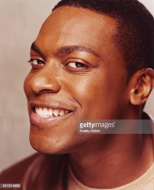 Comedian Chris Tucker Smiling