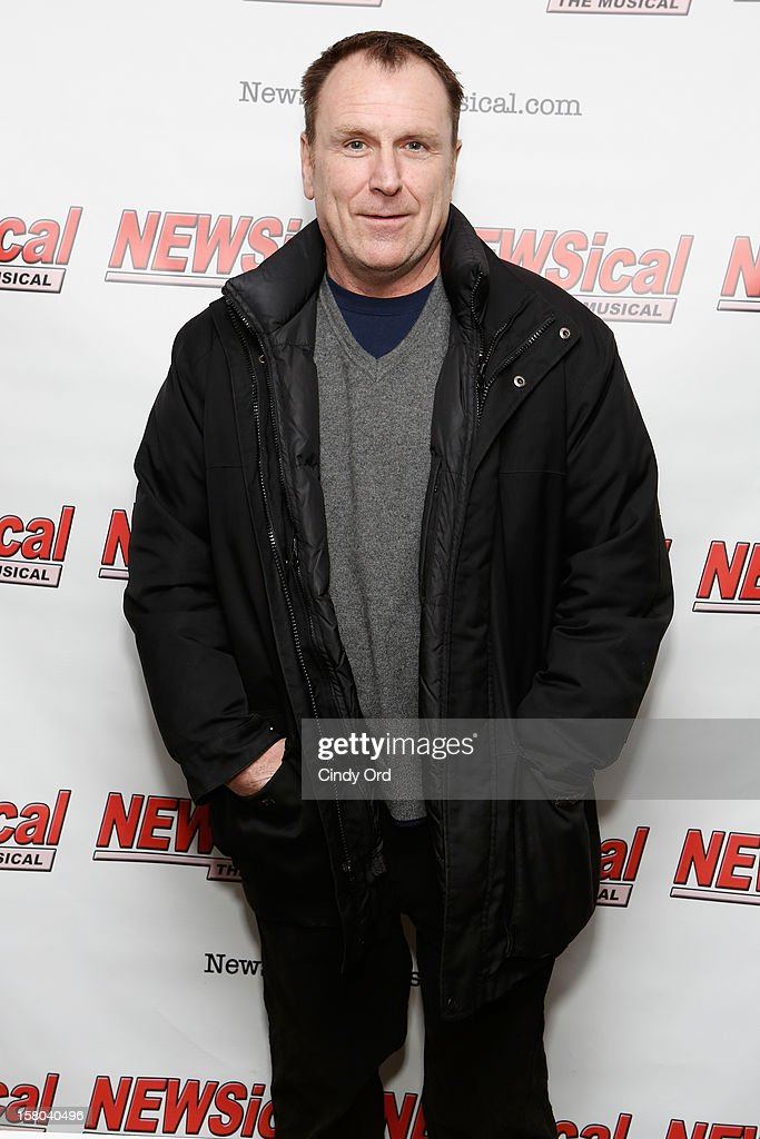 Comedian Colin Quinn attends Cheri Oteri's debut in 'Newsical The Musical' on December 9, 2012 in New York City.