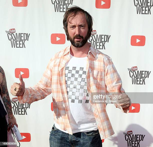 Comedian Comedian Tom Green attends YouTube Comedy Week Presents 'The Big Live Comedy Show' at Culver Studios on May 19 2013 in Culver City California