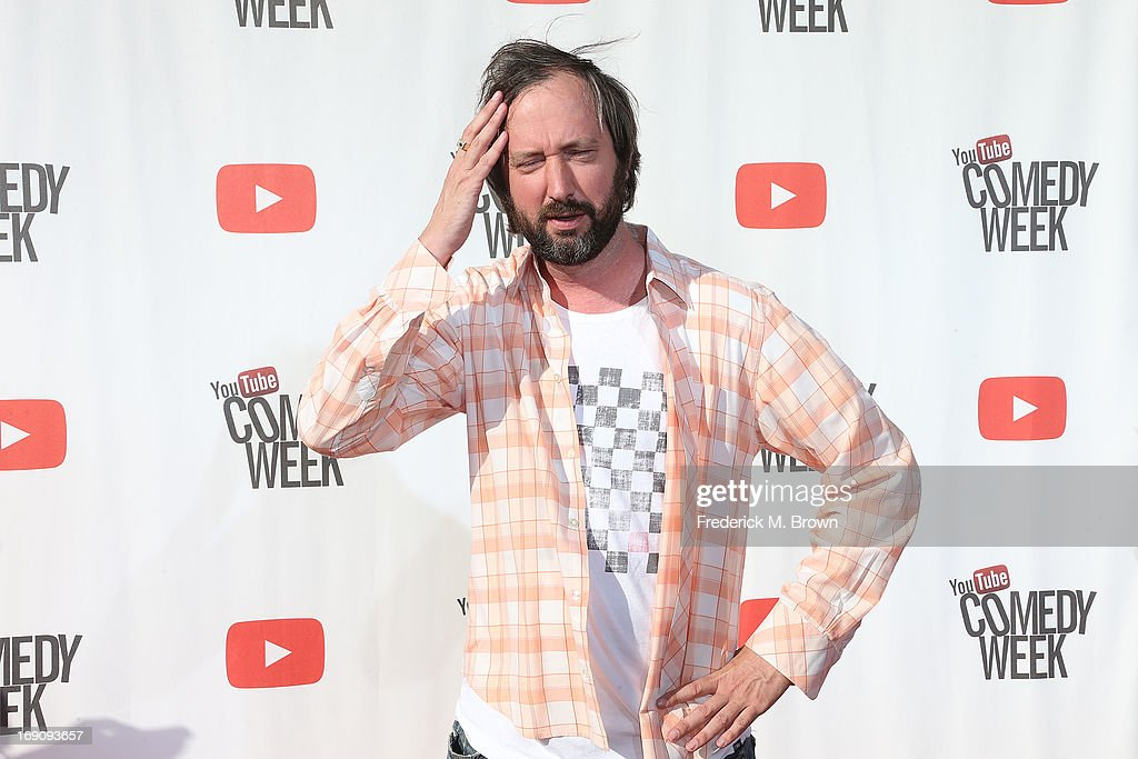 Comedian Comedian Tom Green attends YouTube Comedy Week Presents 'The Big Live Comedy Show' at Culver Studios on May 19, 2013 in Culver City, California.