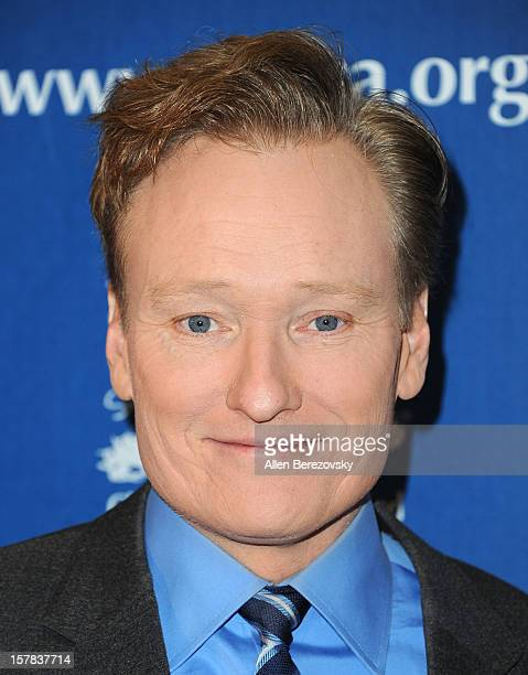 Comedian Conan O'Brien arrives at the Children's Defense Fund of California 22nd Annual Beat The Odds Awards at Beverly Hills Hotel on December 6...
