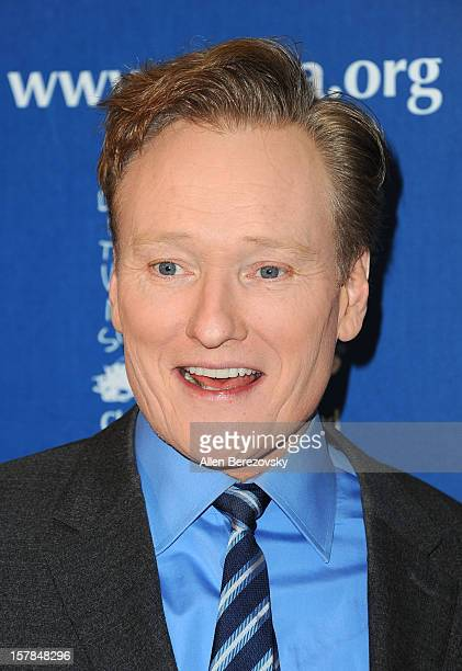 Comedian Conan O'Brien arrives at the Chrildren's Defense Fund of California 22nd Annual Beat The Odds Awards at Beverly Hills Hotel on December 6...