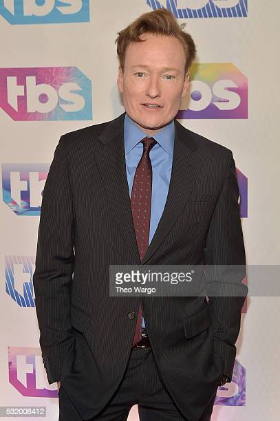 Comedian Conan O'Brien attends TBS's A Night Out With - FYC Event at The New Museum on May 17, 2016 in New York City.