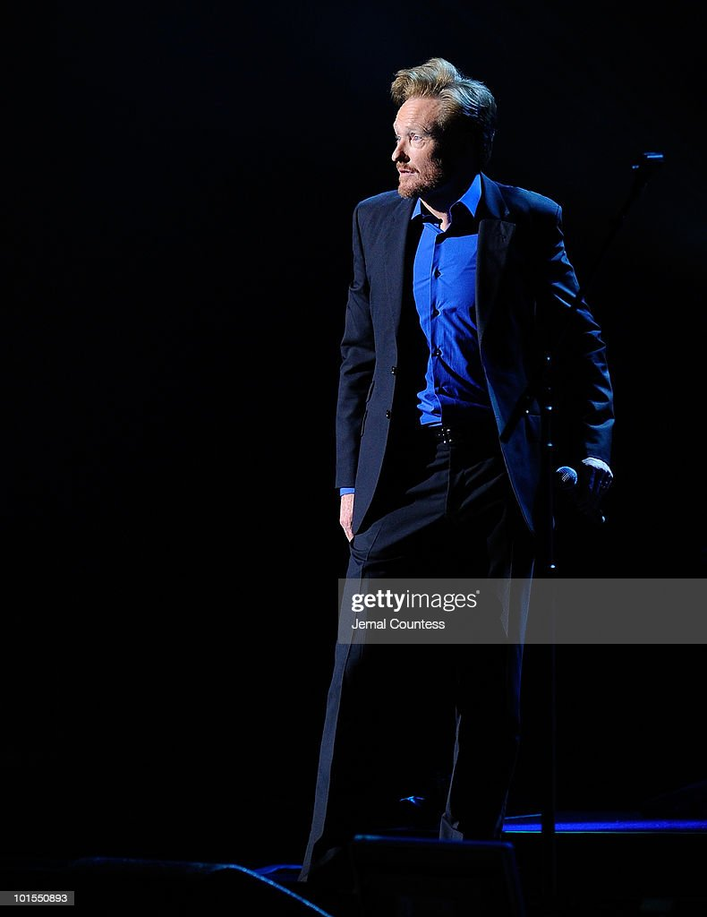 """Conan O'Brien's """"Legally Prohibited From Being Funny On Television"""" Tour : News Photo"""