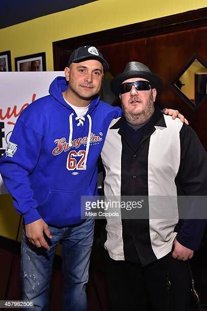 Comedian Craig Carton and Brian Fischler attend the 2014 Laugh For Sight Benefit at Gotham Comedy Club on October 27 2014 in New York City