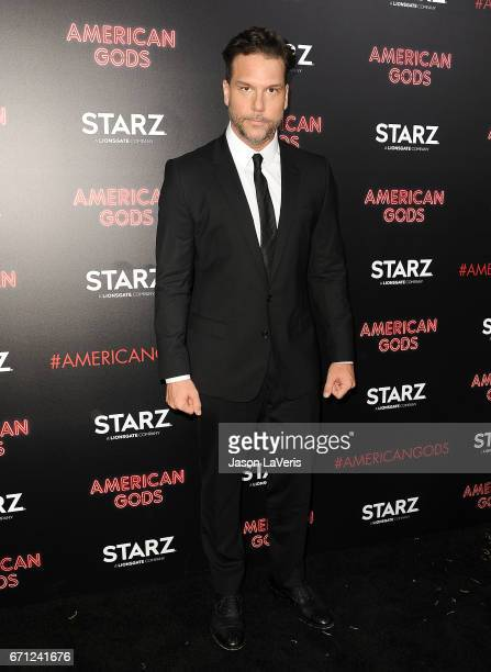Comedian Dane Cook attends the premiere of American Gods at ArcLight Cinemas Cinerama Dome on April 20 2017 in Hollywood California