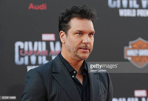 Comedian Dane Cook attends the premiere of Captain America Civil War at Dolby Theatre on April 12 2016 in Hollywood California