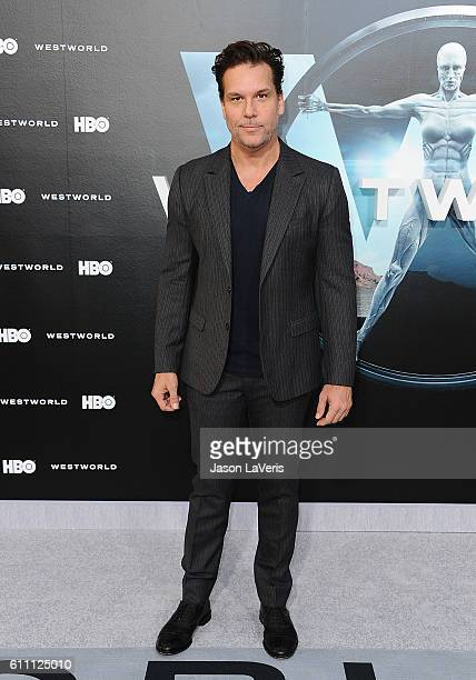 Comedian Dane Cook attends the premiere of Westworld at TCL Chinese Theatre on September 28 2016 in Hollywood California