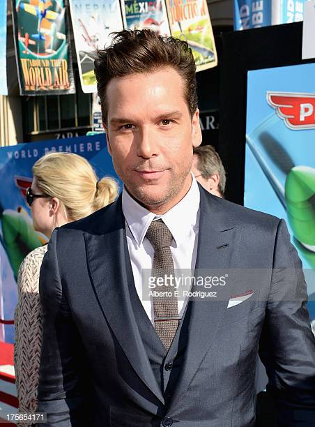 "Comedian Dane Cook attends the World Premiere of ""Disney's Planes"" at the El Capitan Theatre on Aug 5 in Hollywood California"