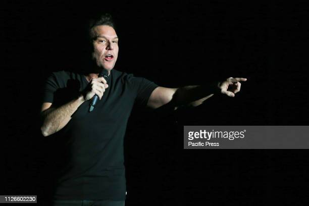 Comedian Dane Cook performs in concert at the Paramount in Huntington New York