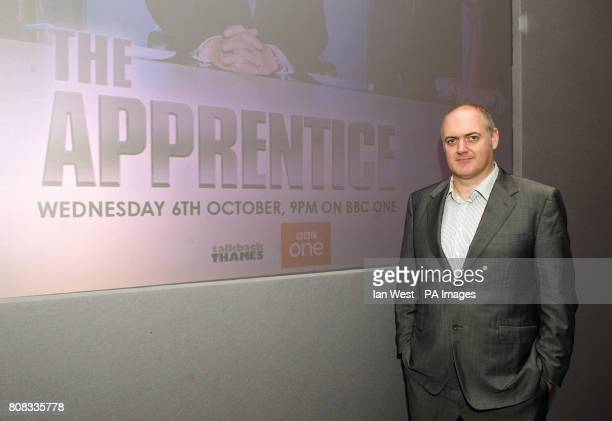 Comedian Dara O'Briain during the launch of a new series of BBC1's The Apprentice which starts on Wednesday October 6th