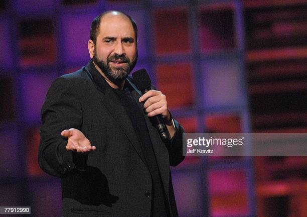 Comedian Dave Attell onstage at Comedy Central's LAST LAUGH 2007 at the Wilshire Theater on November 13, 2007 in Beverly Hills, California.