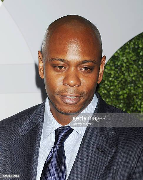 Comedian Dave Chappelle arrives at the 2014 GQ Men Of The Year Party at Chateau Marmont on December 4 2014 in Los Angeles California