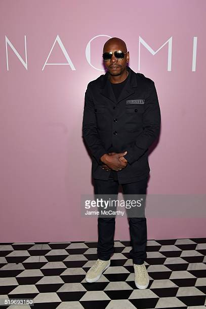 Comedian Dave Chappelle attends as Marc Jacobs Benedikt Taschen celebrate NAOMI at The Diamond Horseshoe on April 7 2016 in New York City