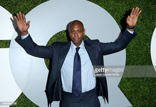 Comedian Dave Chappelle attends the 2014 GQ Men Of The Year party at Chateau Marmont on December 4 2014 in Los Angeles California