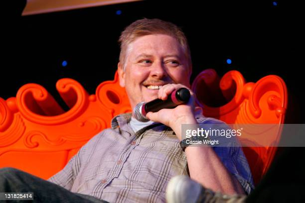 Comedian Dave Foley speaks onstage at the 2011 SXSW Music Film Interactive Festival Comedy DeathRay Radio With Scott Aukerman Live Podcast Taping at...