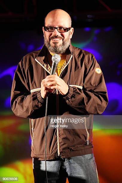 Comedian David Cross performs onstage at ATP New York 2009 festival at the Kutsher's Country Club on September 11, 2009 in Monticello, New York.