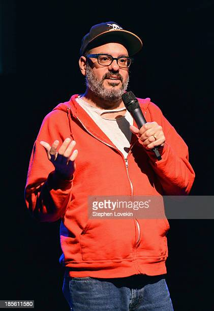 Comedian David Cross performs onstage at the OneKid OneWorld Hosts A Night Of Comedy at Gramercy Theatre on October 22 2013 in New York City