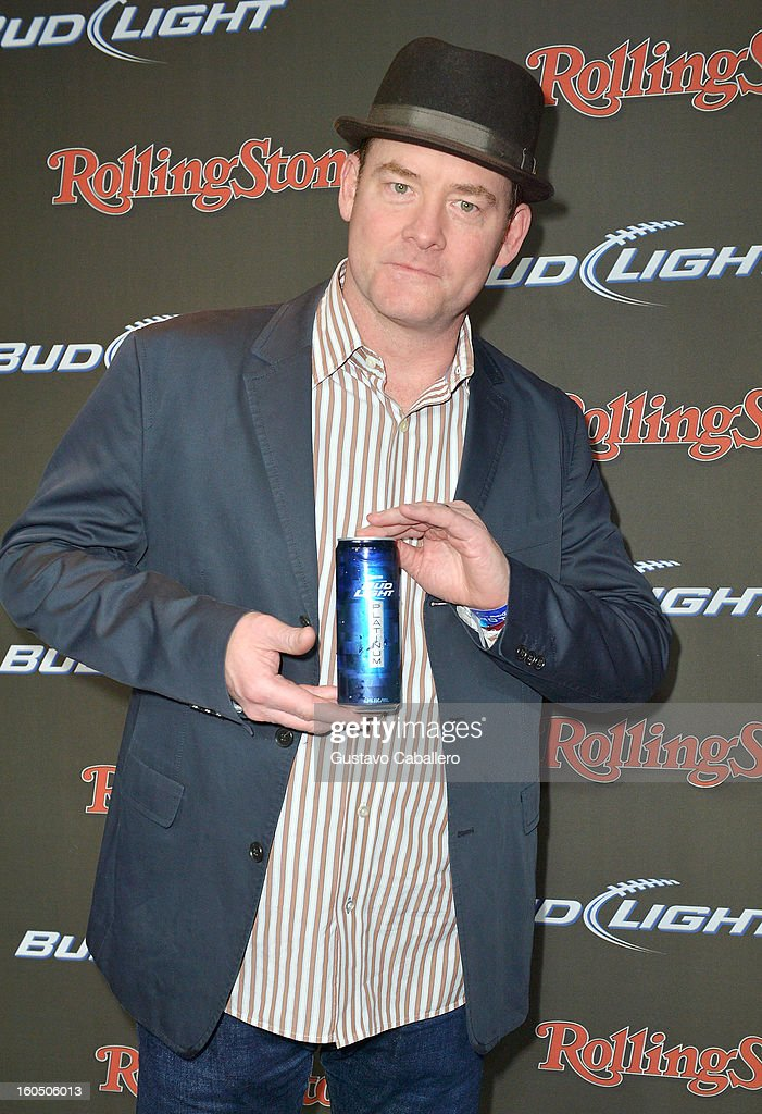 Rolling stone live at the bud light hotel for super bowl xlvii comedian david koechner arrives at the rolling stone live party held at the bud light hotel aloadofball Gallery