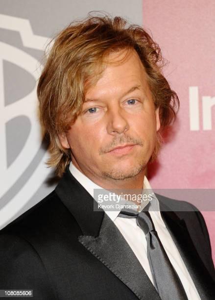 Comedian David Spade arrives at the 2011 InStyle And Warner Bros 68th Annual Golden Globe Awards postparty held at The Beverly Hilton hotel on...
