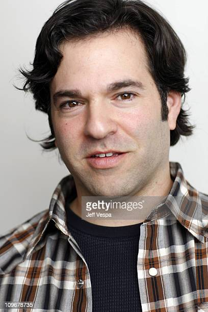 Comedian David Wain at the Sky360 by Delta Lounge WireImage Portrait Studio on January 20 2008 in Park City Utah