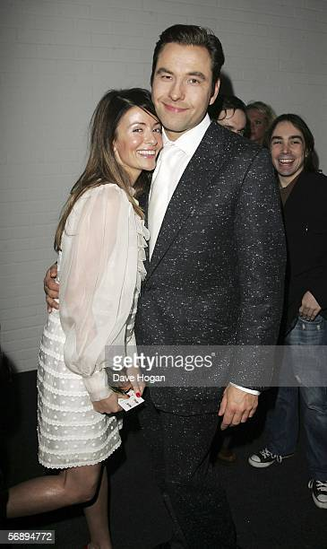 Comedian David Walliams and Sara MacDonald attend the after party following the ELLE Style Awards 2006 the fashion magazine's annual awards...