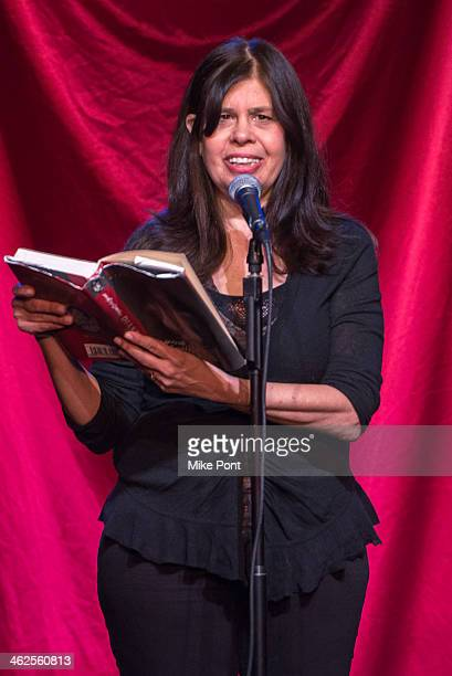 Comedian Dayle Reyfel performs in the 2014 Celebrity Autobiography show at Stage 72 on January 13 2014 in New York City