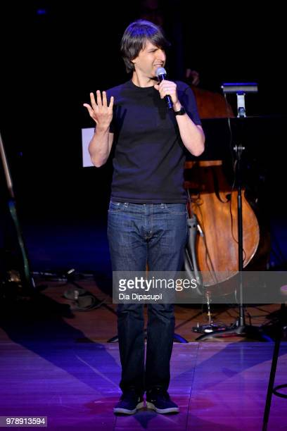 Comedian Demetri Martin performs onstage during Lincoln Center Corporate Fund's Stand Up Sing for the Arts at Alice Tully Hall on June 19 2018 in New...