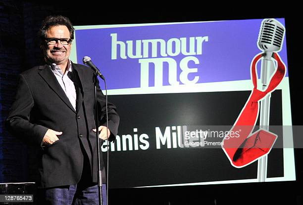 Comedian Dennis Miller attends Humour Me The CEO/Comedy Classic at the Winter Garden Theatre on October 6 2011 in Toronto Canada