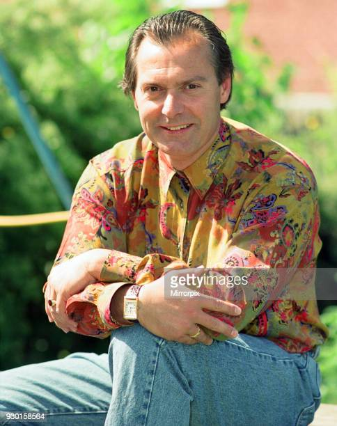 Comedian Denny Hodge who is hoping his routine on Granda TV's ' The Comedians' will lead to his big time break 27th May 1992.