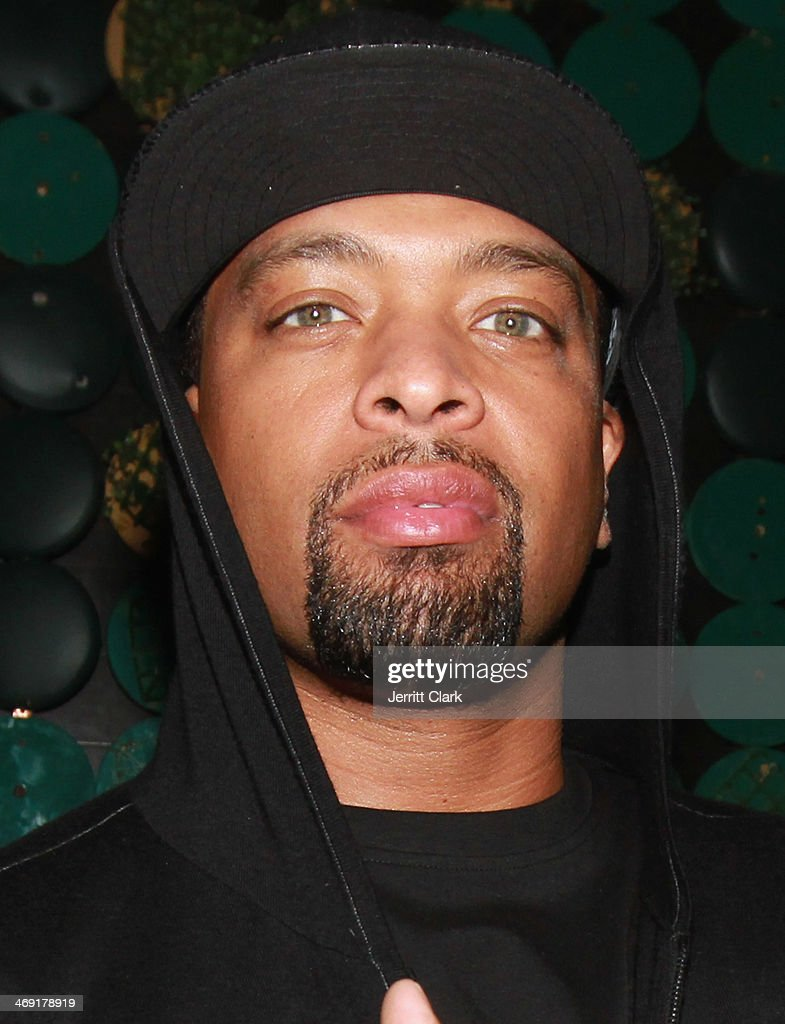 Comedian DeRay Davis attends Emily B.'s Birthday Party at Greenhouse on February 11, 2014 in New York City.