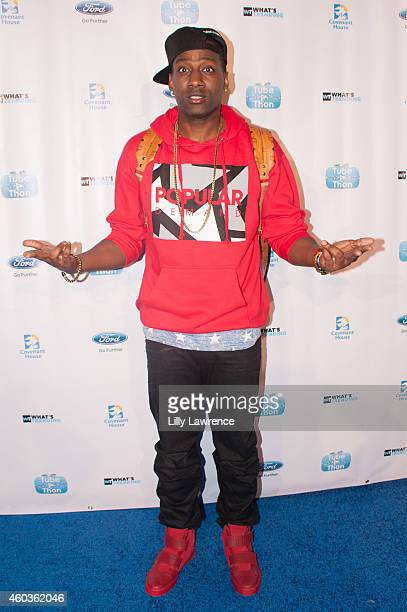 Comedian DeStorm attends What's Trending 3rd Annual TubeAThon on December 11 2014 in Los Angeles California