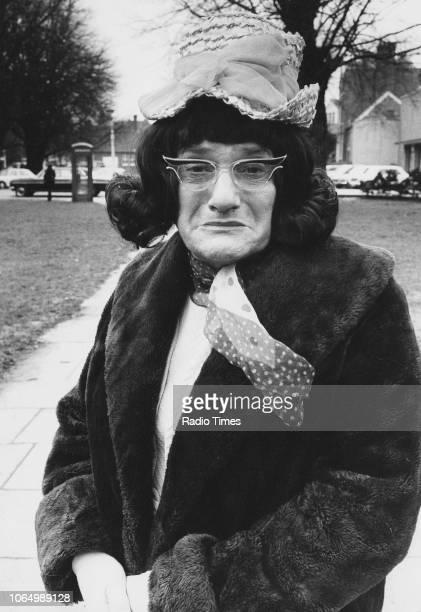Comedian Dick Emery dressed as a judge in a sketch from the television series 'The Dick Emery Show' October 16th 1979