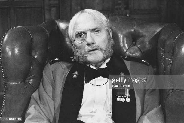 Comedian Dick Emery dressed as an old man in a sketch from the television series 'The Dick Emery Show' October 16th 1979